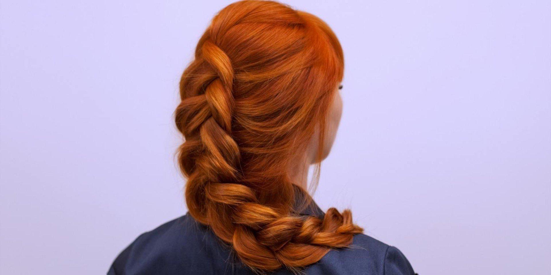 Flechtezöpfe und andere einfache Frisuren für den Alltag lange Haare