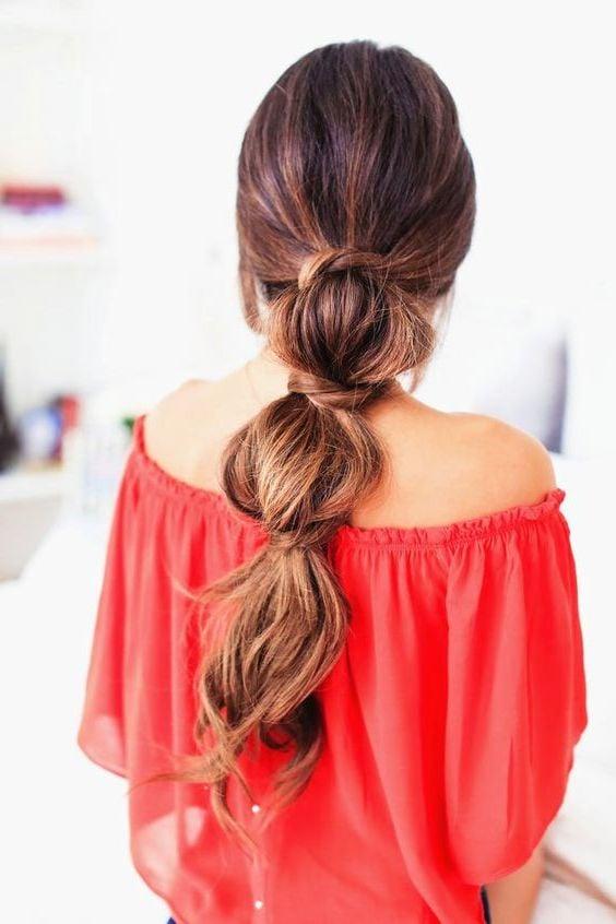 Einfache Frisuren für den Alltag lange und mittellange Haare