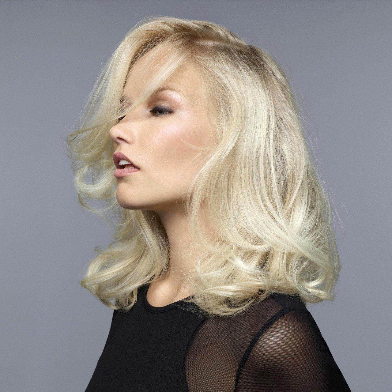 Lässige Haare für die Blonden: einfache Frisuren für den Alltag