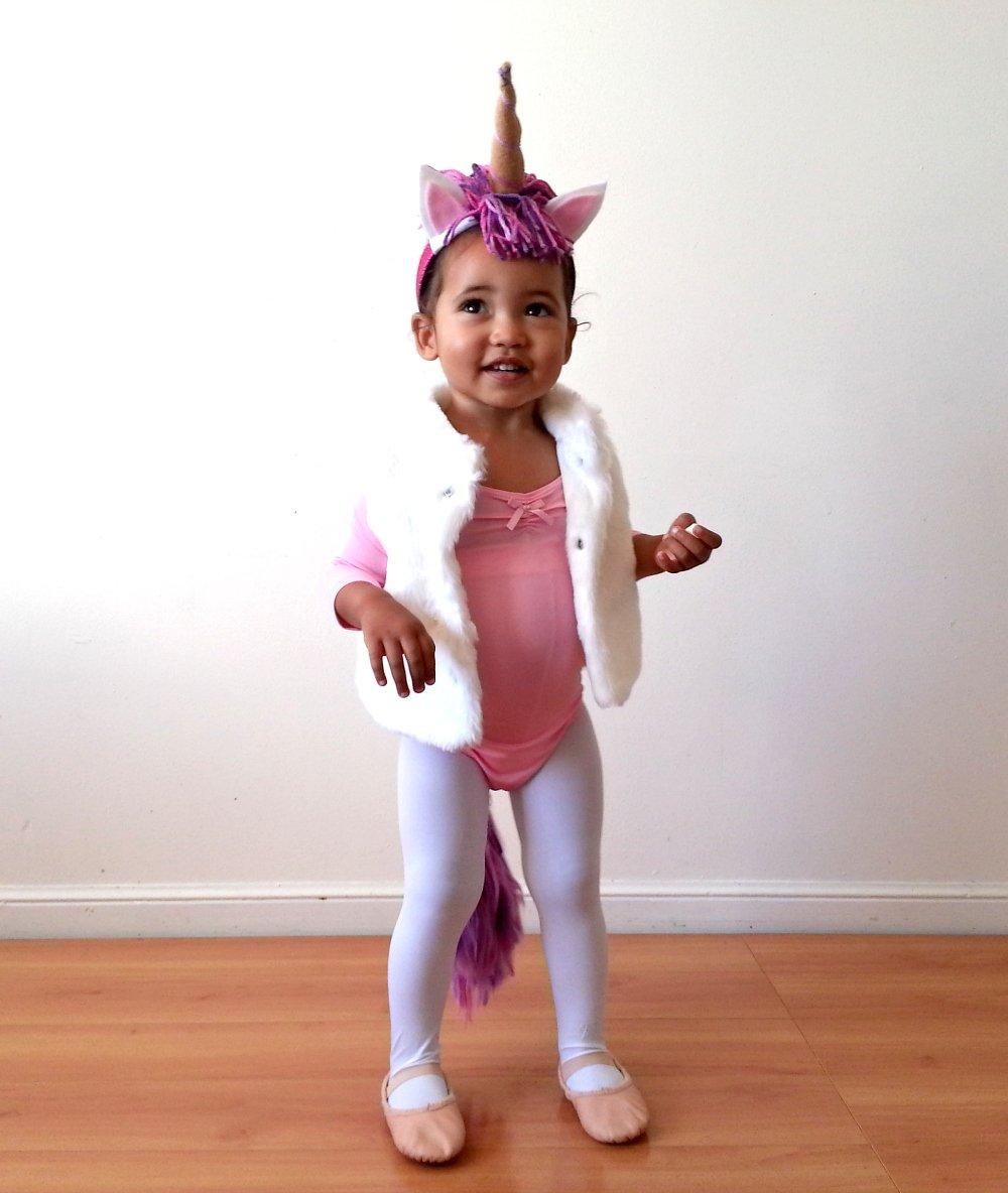 Süß Einhorn Kostüm für die Kleine