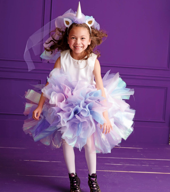 Einhorn Kostüm in Pastellfarben
