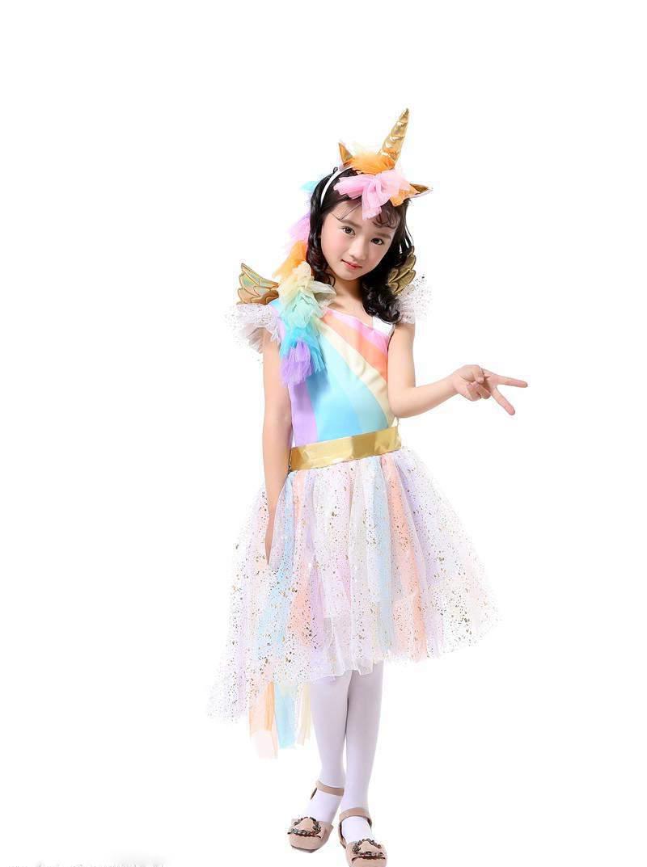Fasching Einhorn Kostüm für kleine Prinzessinnen