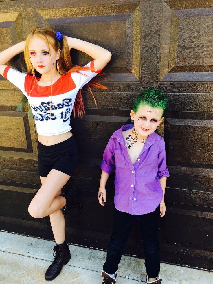 Harley Quin Kostüm Kinder und Partnerlook