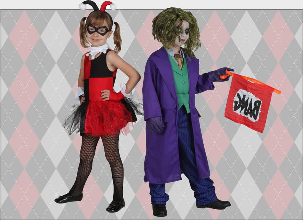 Harley Quinn Kostüm und Joker: Ideen für Ihre Kinder für Fasching