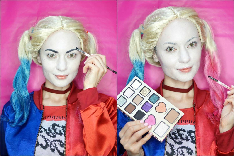 Harley Quinn Kostüm: Schminken Anleitung