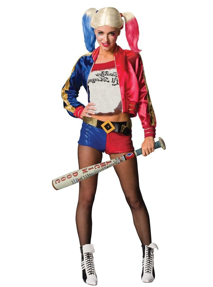 Harley Quinn Kostüm: ganzes Look