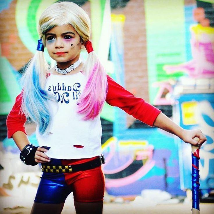 Ihr Kind möchtet ein Harley Quinn Kostüm für Fasching?
