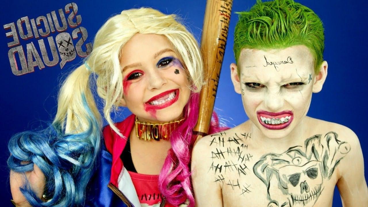 Harley Quinn und Joker: Kostüme selber machen