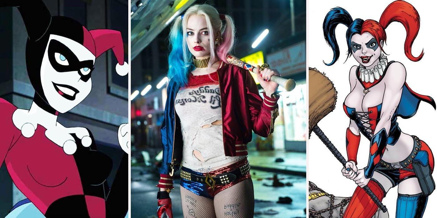 Harley Quinn Kostüm: 3 berühmte Varianten