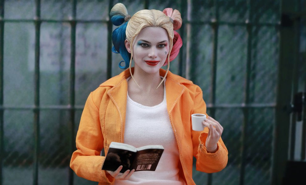 Harley Quinn Kostüm im Gefängnis