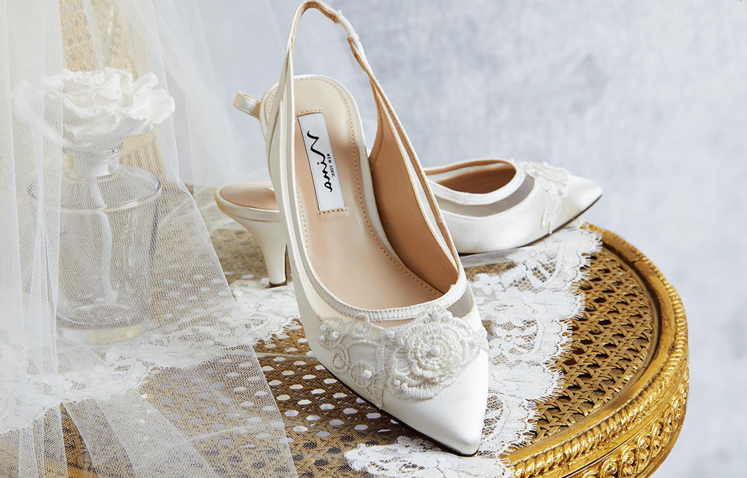 Hochzeitsschuhe – Hohe oder flache Brautschuhe?