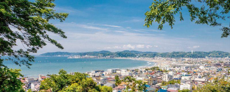 Japan Reise auf der japanischen Küste
