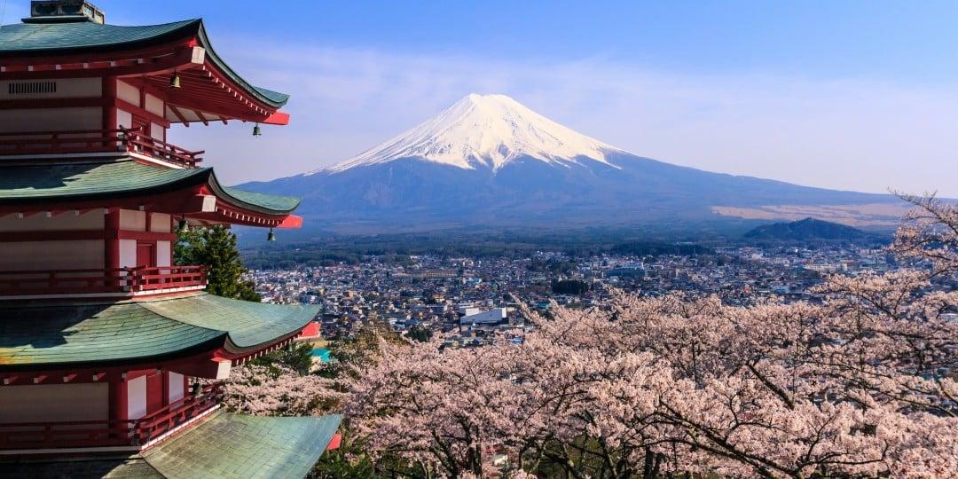 Japan reisen: Mount Fuji