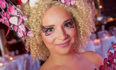 Kinderzimmer Schmetterling Fasching Make up Ideen