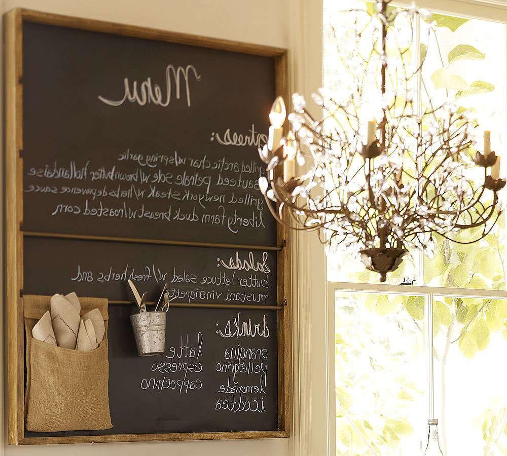Kreidetafel Küche Ideen als Dekoration