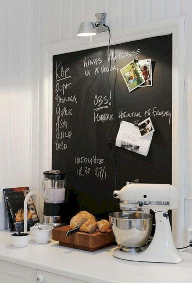 Kreidetafel Küche als Organizer für tägliche Aufgaben