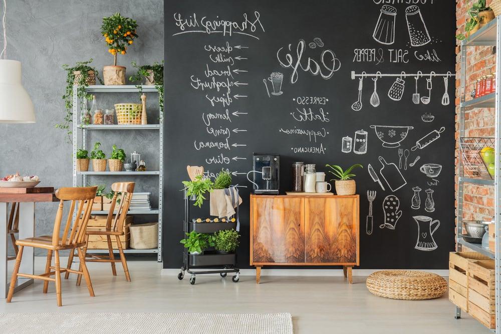 Kreidetafel Küche Ideen