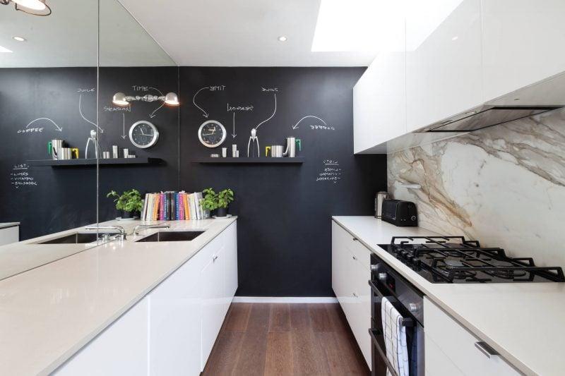 Kreidetafel Küche - Ideen für zeitgenössischen Einrichtungsstil
