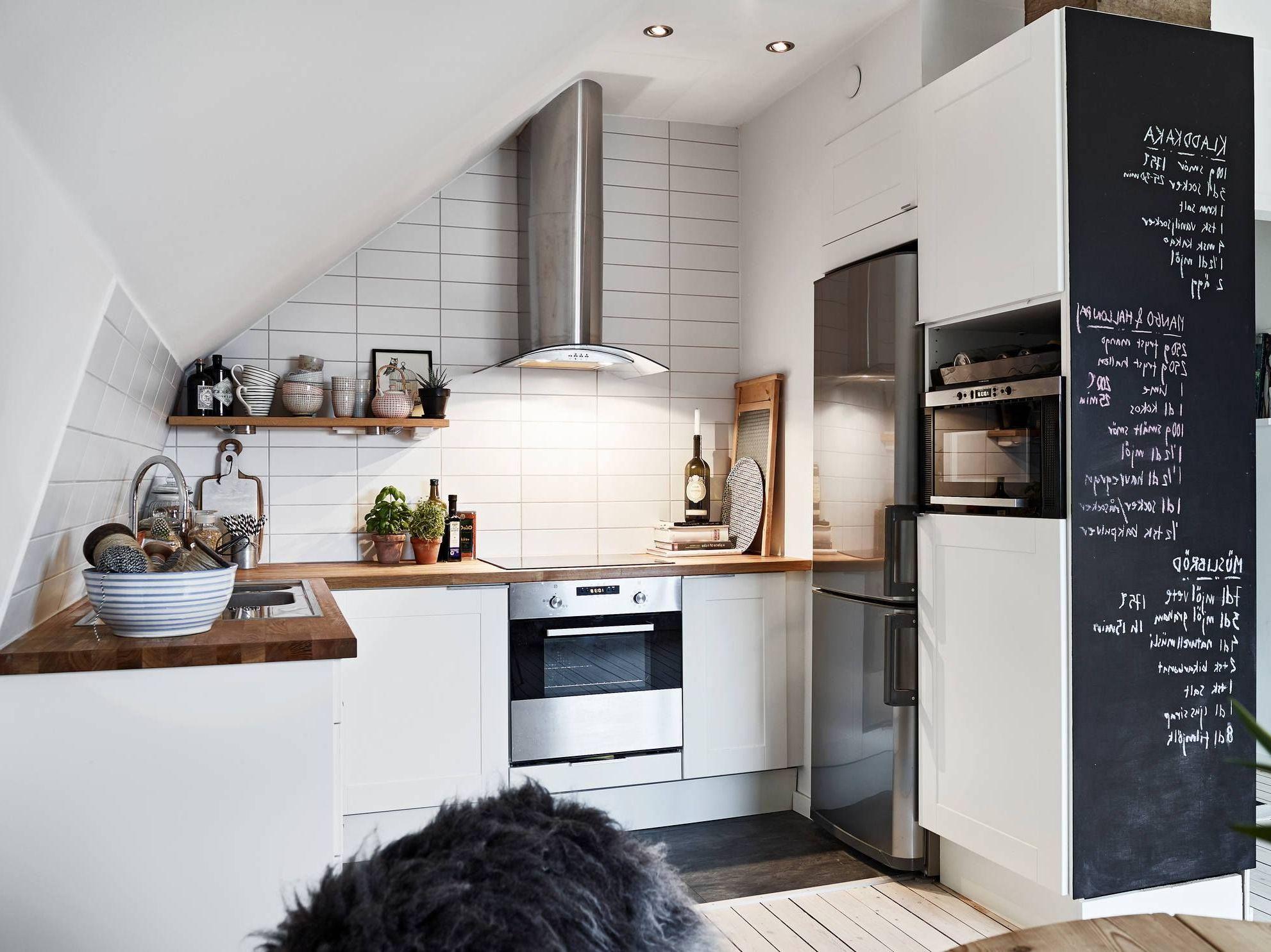 Kreidetafel Küche - was ist besser eine Küchenwand oder Schrank mit Kreidetafel?