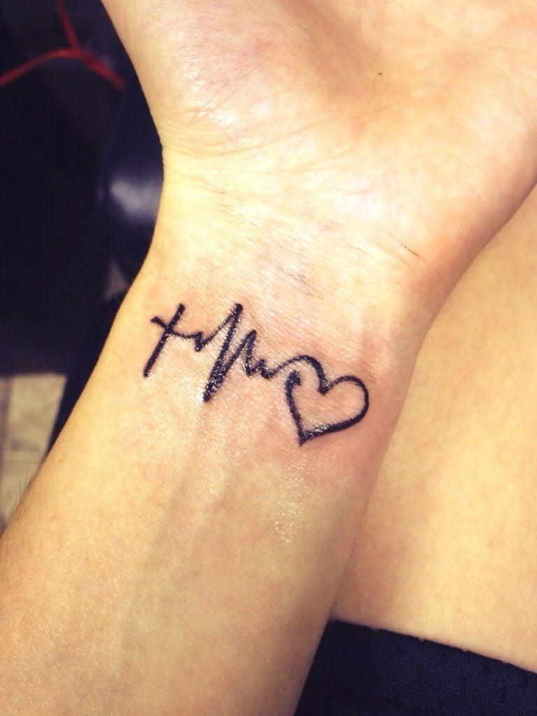 Liebes Tattoo Hoffnung Glaube Liebe Tattoo