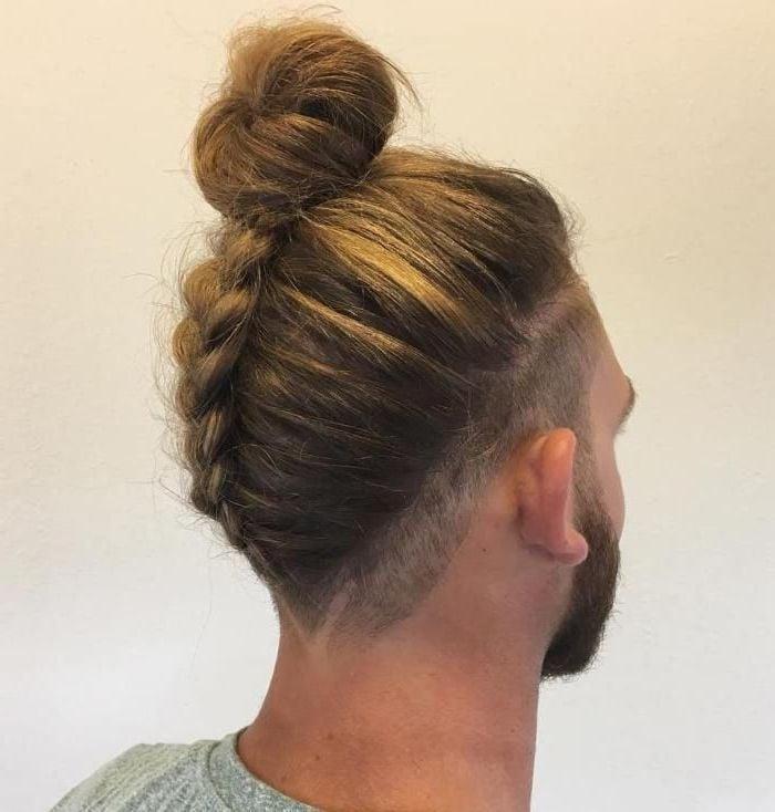 Frisuren Männer: Männer Dut mit Männerzopf