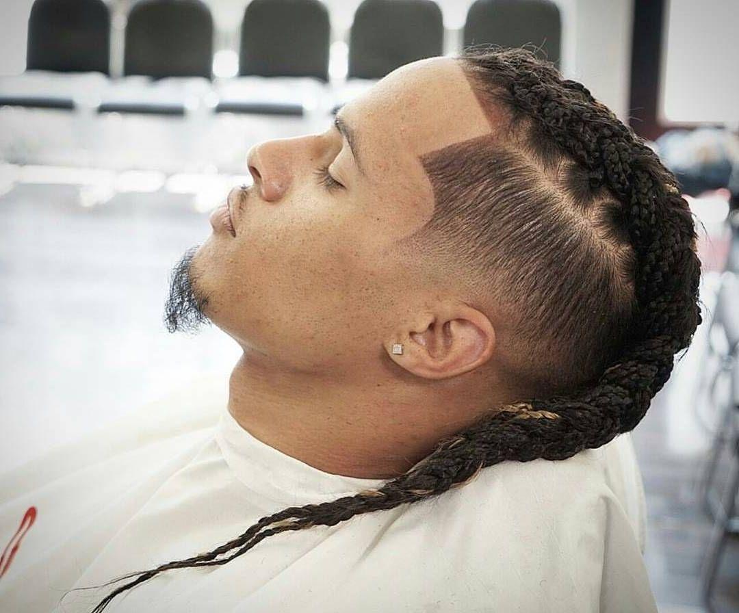 Trendige Männer Frisuren - Männerzopf