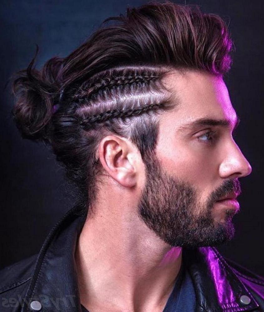 Männer Frisuren mit Französischer Zopf