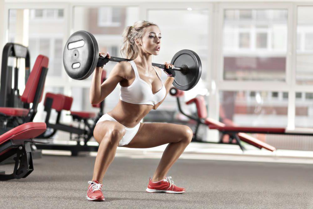 Beine Po Training Frauen