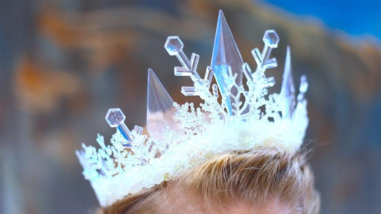 Prinzessin Krone für Fasching Kostüm selber machen