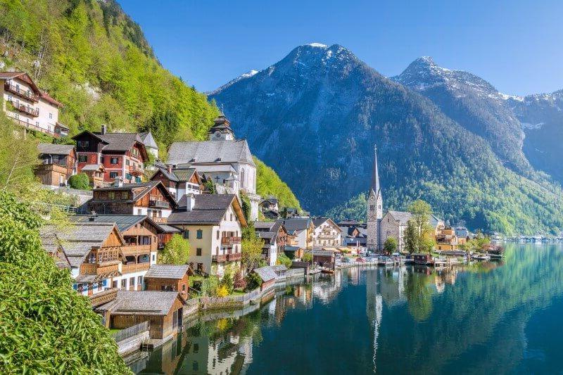 Unbekannte und Budget Reiseziele - schönste Städte zu besuchen