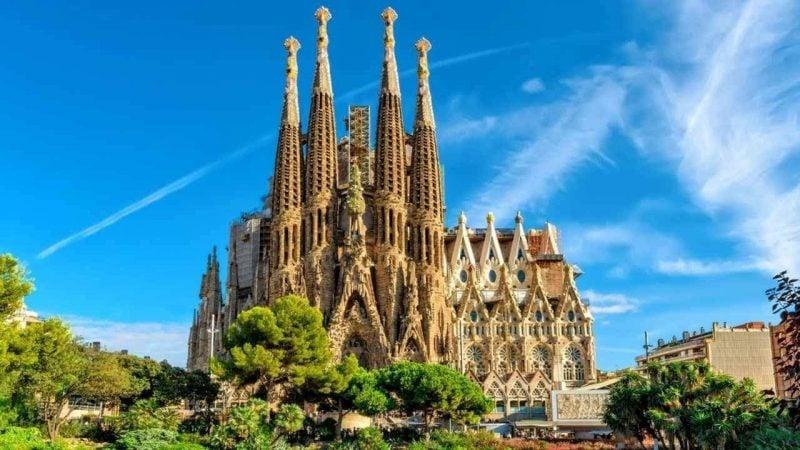 Städtetrip Europa: Gaudi Kathedrale in Barcelona