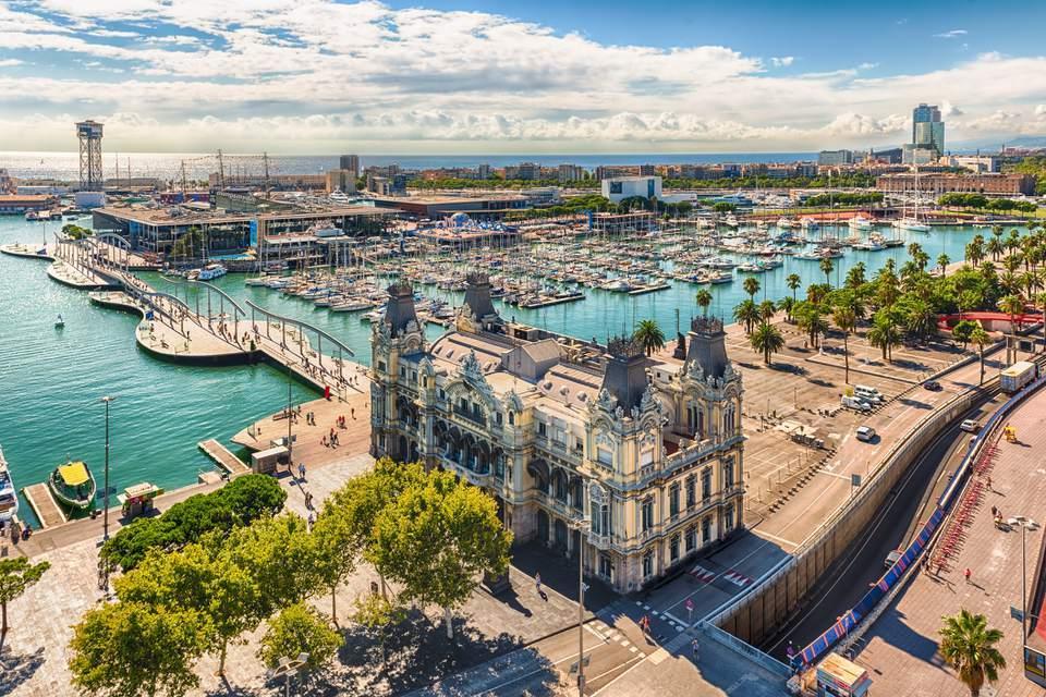 Städtetrip Europa: Barcelona Hafen