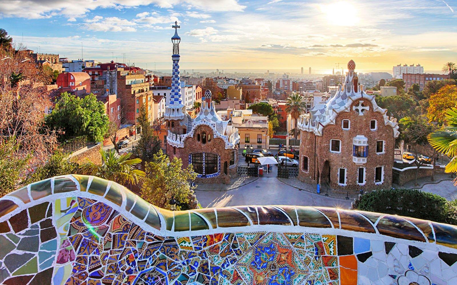 Städtetrip Europa: Park Guell in Barcelona