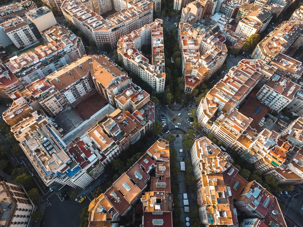 Städtetrip Europa: Barcelona vom oben