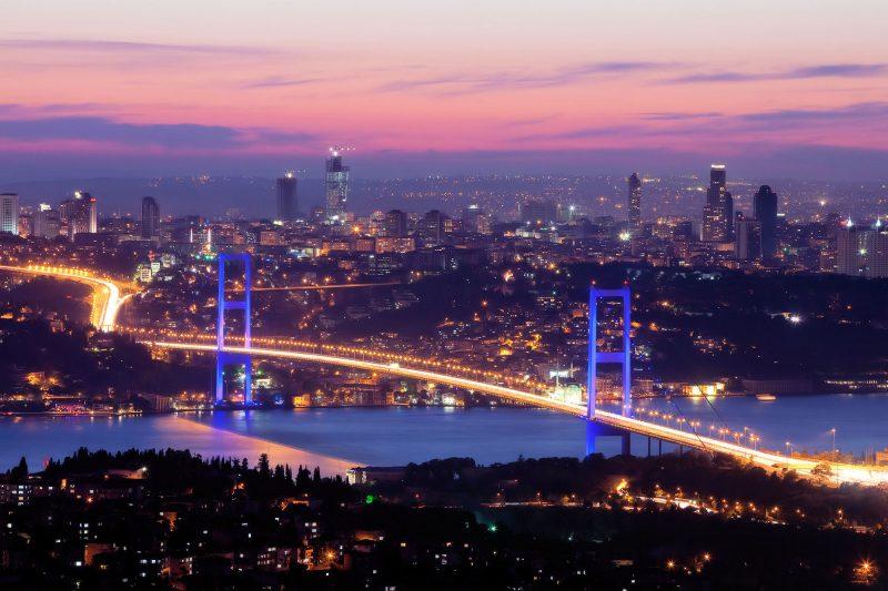 Städtetrip Europa: Istanbul von oben