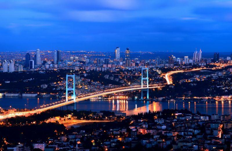 Städtetrip Europa: Nächtlichen Istanbul