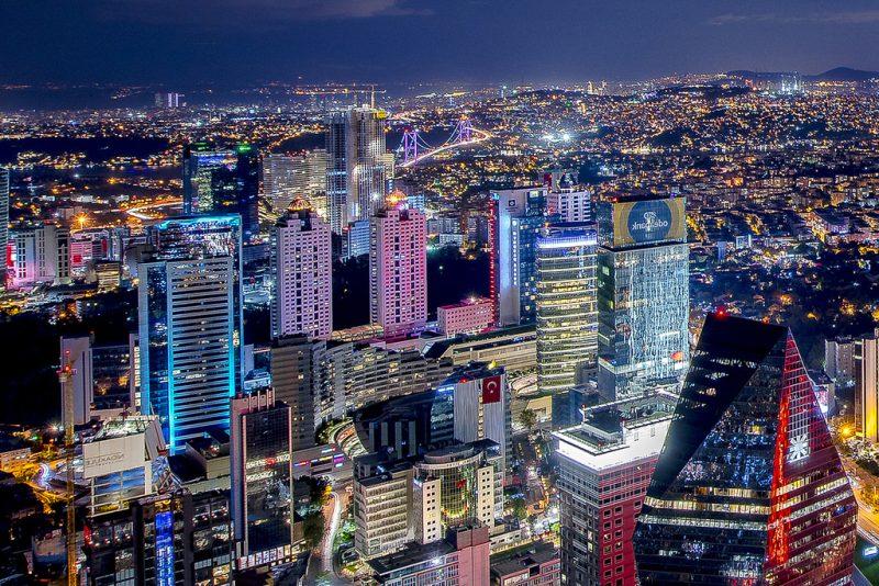 Städtetrip Europa: Istanbul bei Nacht