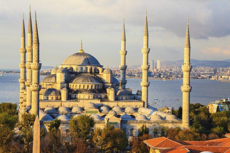 Städtetrip Europa: Die blaue Moschee in Istanbul