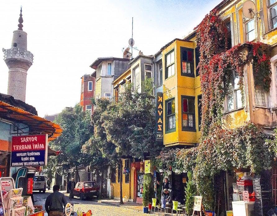 Städtetrip Europa: Straße in Istanbul