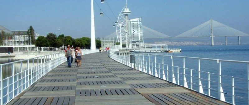 Städtetrip Europa: Lissabon Hafen