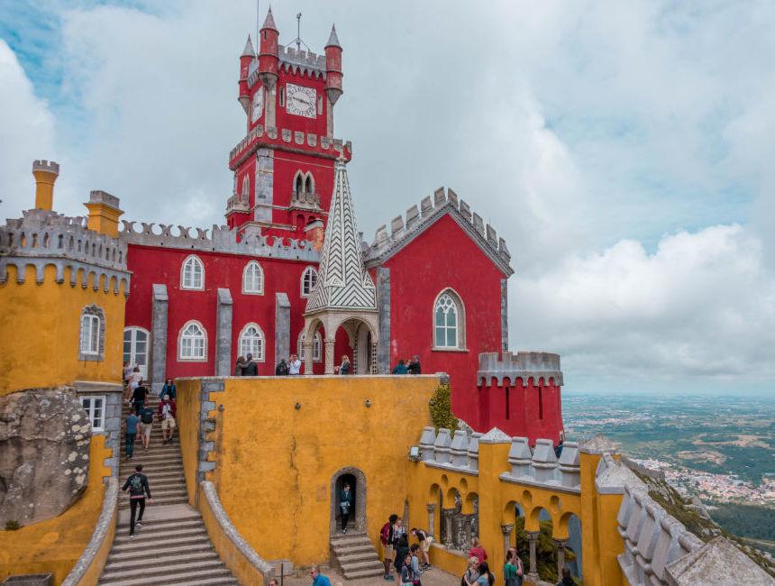 Städtetrip Europa: Lissabon märchenhafte Gebäude