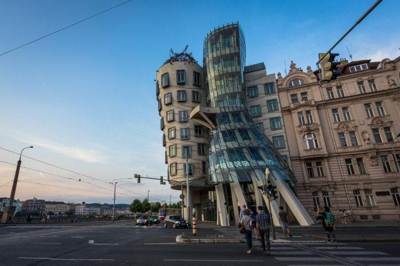 Städtetrip Europa: Interessante Architektur in Prag