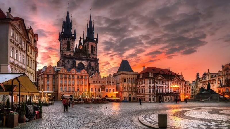 Städtetrip Europa: Das alte Zentrum in Prag