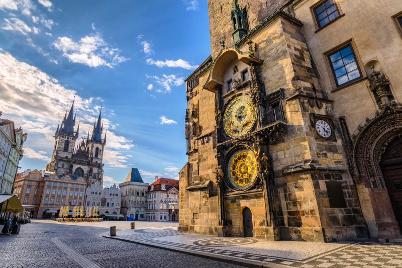 Städtetrip Europa: Der Platz von alter Stadt in Prag