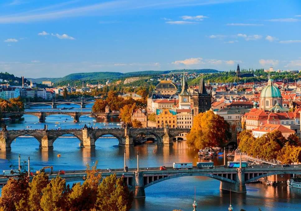 Städtetrip Europa: Blick über Prag
