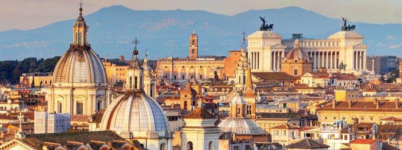 Städtetrip Europa: Blick über Rom