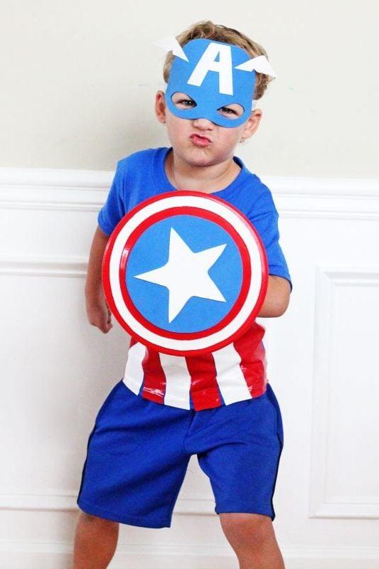 Capitan America und andere Ideen für Superhelden Kostüm selber machen