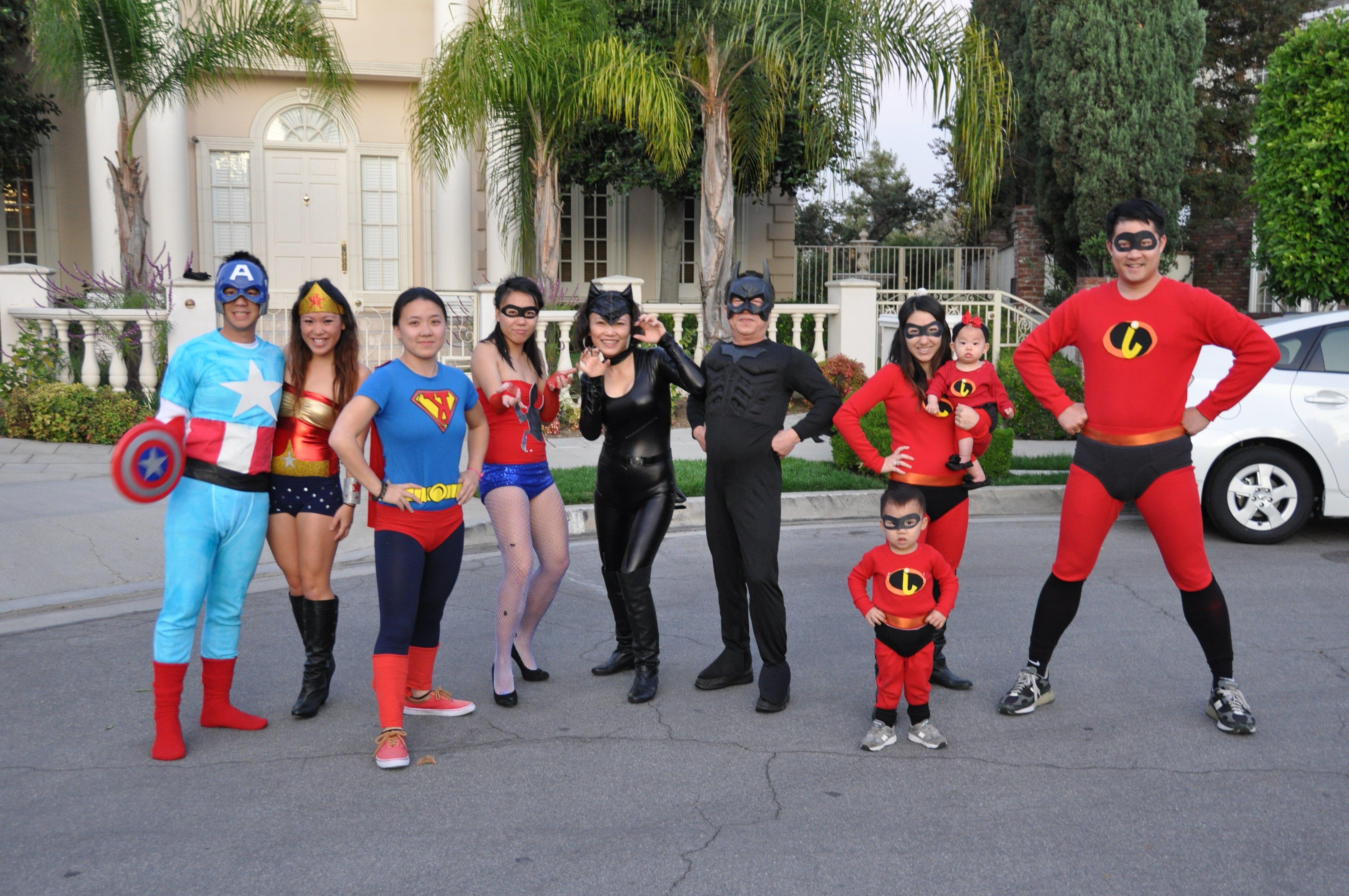 Kostüm Superhelden selber machen DIY Ideen