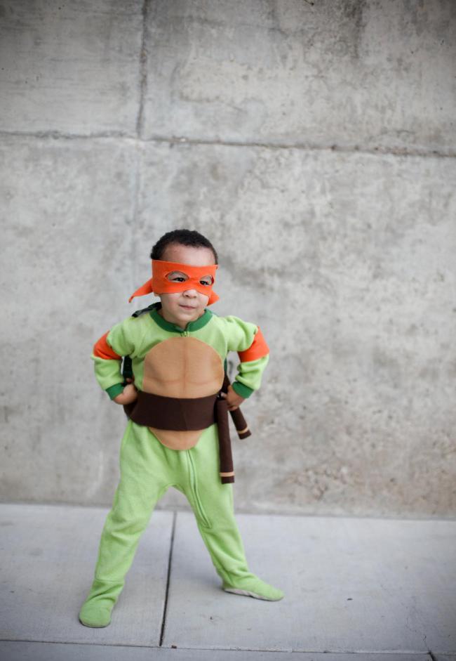 Superhelden Kostüm selber machen: Anleitung, Schritt 1