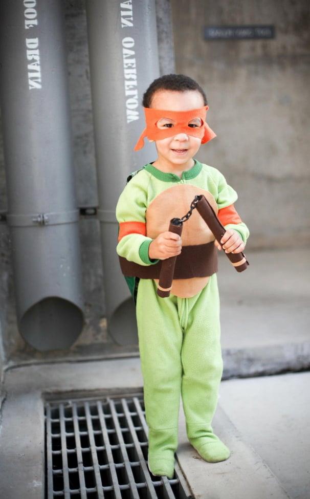 Superhelden Kostüm selber machen Anleitung: Schritt 5